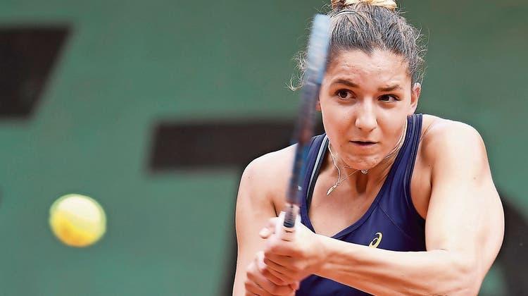 Rebeka Masarova schaffte es an den US Open in diesem Jahr erstmals ins Hauptfeld. (Freshfocus (Archiv))