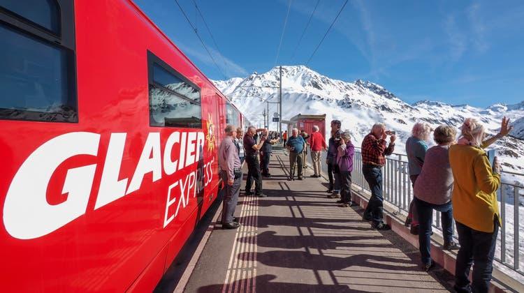 Zutritt nur mit Zertifikat: Der Glacier Express. (zvg)