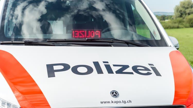 In Neukirch kam es zu einem Arbeitsunfall (Bild: Kapo TG)