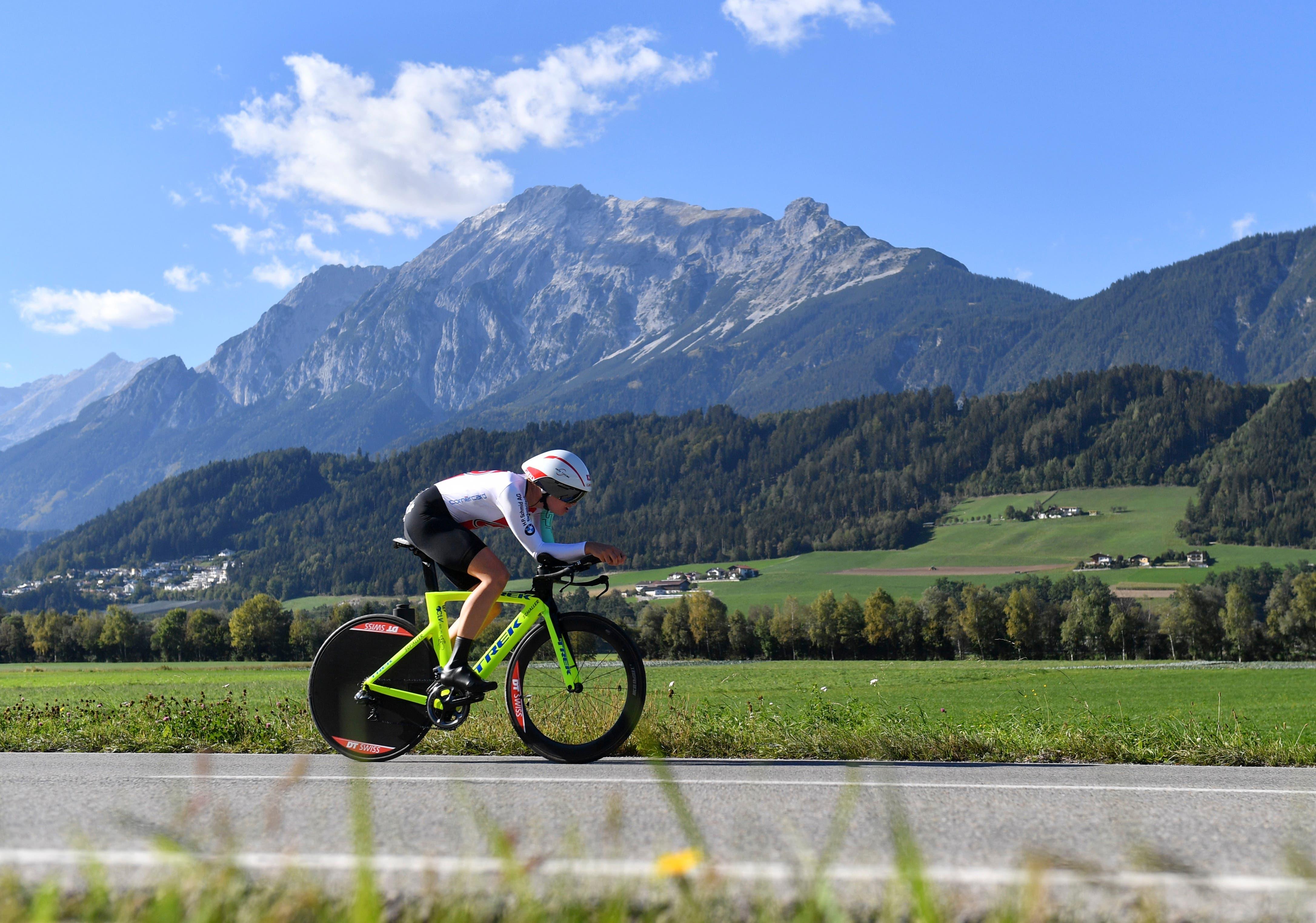 2018 fährt sie im Einzelzeitfahren an der Strassen-EM in Innsbruck auf den 17. Platz.