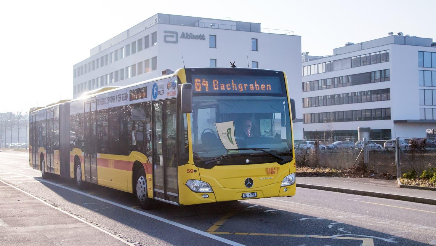 Sorgt für Diskussionen: die Nicht-Verlängerung der Buslinie 64. (Nicole Nars-Zimmer)
