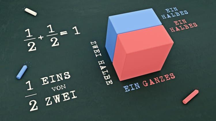 Mathematik: Da fehlt dem Autor die «Lichtflut der Souveränität». (zvg)