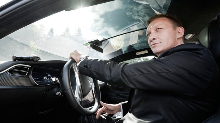 Der Thurgauer Martin Langanke hat als Double des Doppelnullagenten Daniel Craig einige Aufträge an Land gezogen. (Bild: PD)
