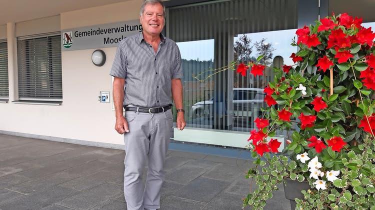 Christoph Fischer kandidiert in Moosleerau als Vizeammann.