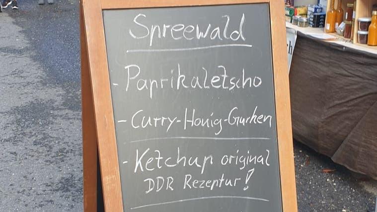 Ketchup - mit original DDR-Rezeptur! (Bild: zfo)