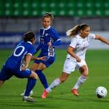 Das sind die Noten der Schweizer Fussballerinnen beim 6:0 gegen Moldawien