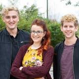 Das kreative Trio hinter PopUp-Operetta: Simon Burkhalter,Bettina Setz und Yves Ulrich (Valentin Hehli)