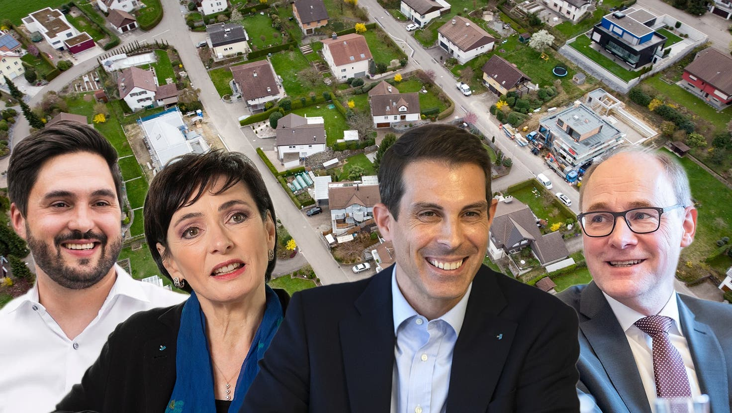 Die Wohneigentümer sind in der Schweiz eine Minderheit, im Aargau ist der Anteil Mieter/Eigentümer je rund hälftig. (Benjamin Manser)