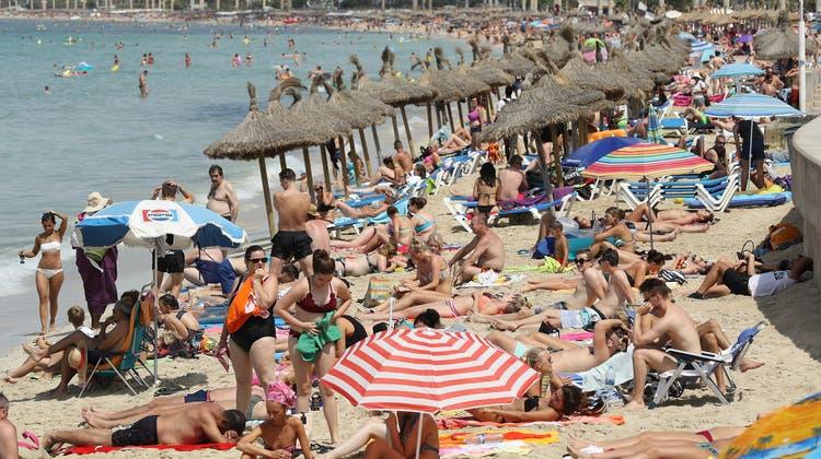 Fleisch-Berge auf Mallorca: So könnten Ferien bald wieder aussehen. (Getty)