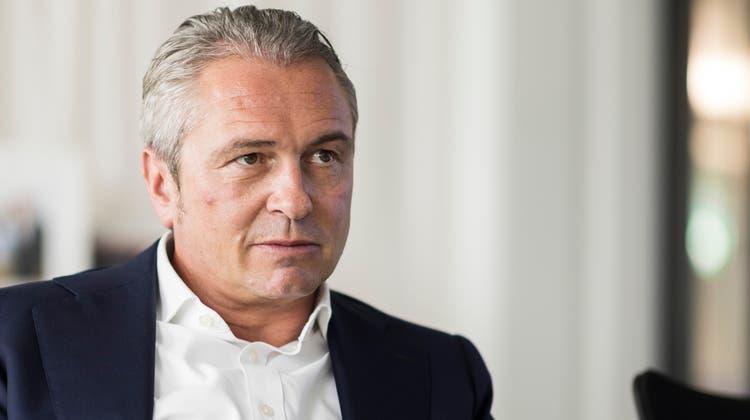 André Krause im Gespräch mit CH Media (Opfikon ZH, 15. September). (Bild: Severin Bigler)