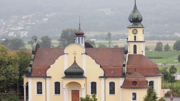 Ein Kestenholzer Wahrzeichen: Die Katholische Kirche. (Bruno Kissling)
