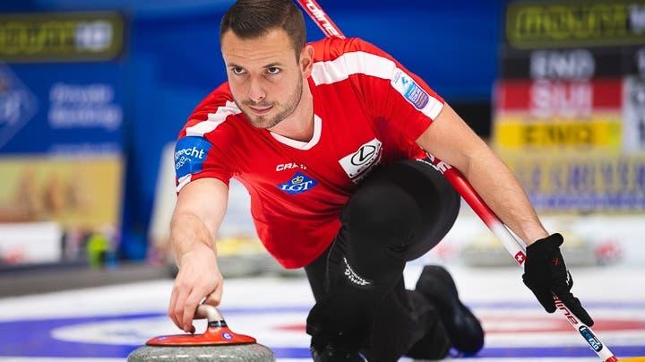 Der Wettinger Curler Marcel Käufeler vor den Olympia-Trials (World Curling Association)