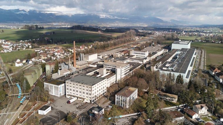 Ein Teil der alten Gebäude in der Mitte des Industrieareales soll abergissen werden. (zvg)