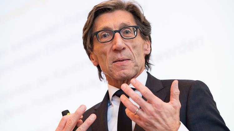 Der ehemalige Zürcher Regierungsrat Thomas Heiniger ist nicht mehr Präsident des Schweizerischen Roten Kreuzes. (Keystone)