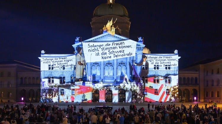Die Geschichte der Schweizer Demokratie lässt sich nicht ohne Frauen erzählen. (Keystone)