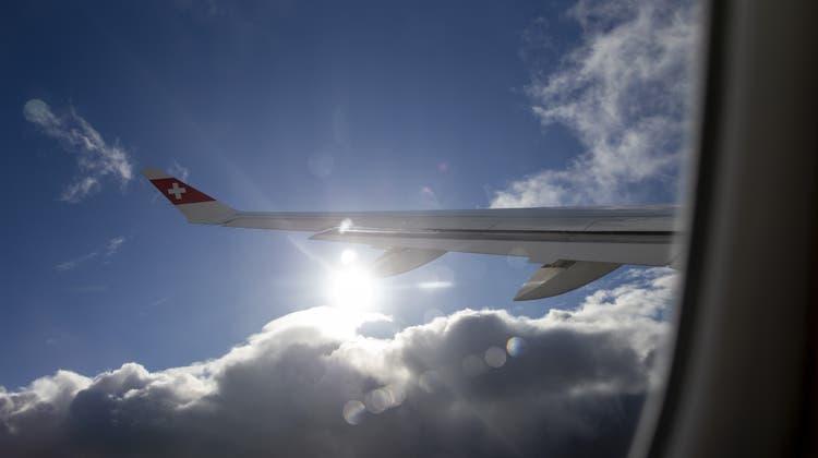 Die Swiss fliegt im Winter 90 Ziele an. (Symbolbild) (Keystone)