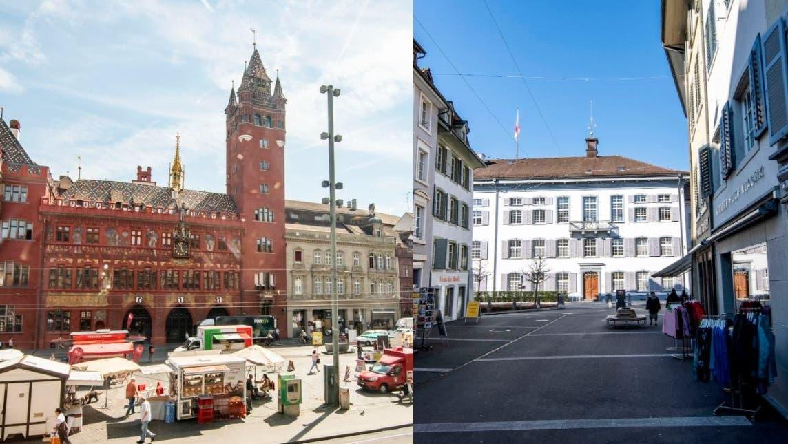 Erste Zwischenresultate sind da: Städtisches Nein zu 99%-Initiative, Ja zur Ehe für Alle, Nein zu den kantonalen Vorlagen - Aesch lehnt den Dom ab