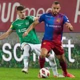 Doppeltorschütze Cabral:St.Gallen verliert gegen Basel mit 0:2