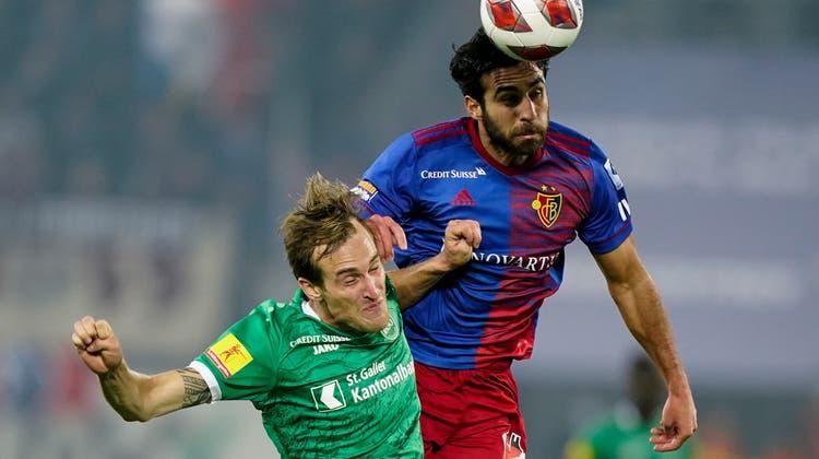 Eray Cömert zeigt gegen St. Gallen eine äusserst überzeugende Leistung. (Freshfocus)