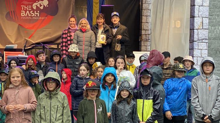 Gottardo – ein Licht für vergessene Kinder: Solothurner Lion Clubs am Spendenmarsch für «Young Carers»