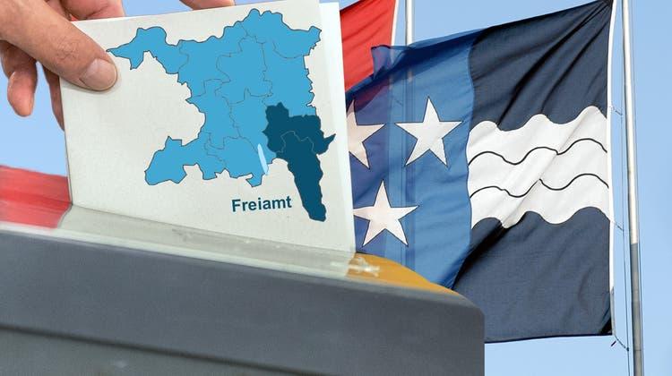 Wer wird gewählt? Auch im Freiamt werden am 26. September in allen Gemeinden die Gesamterneuerungswahlen für die Gemeinderäte durchgeführt. (Keystone)