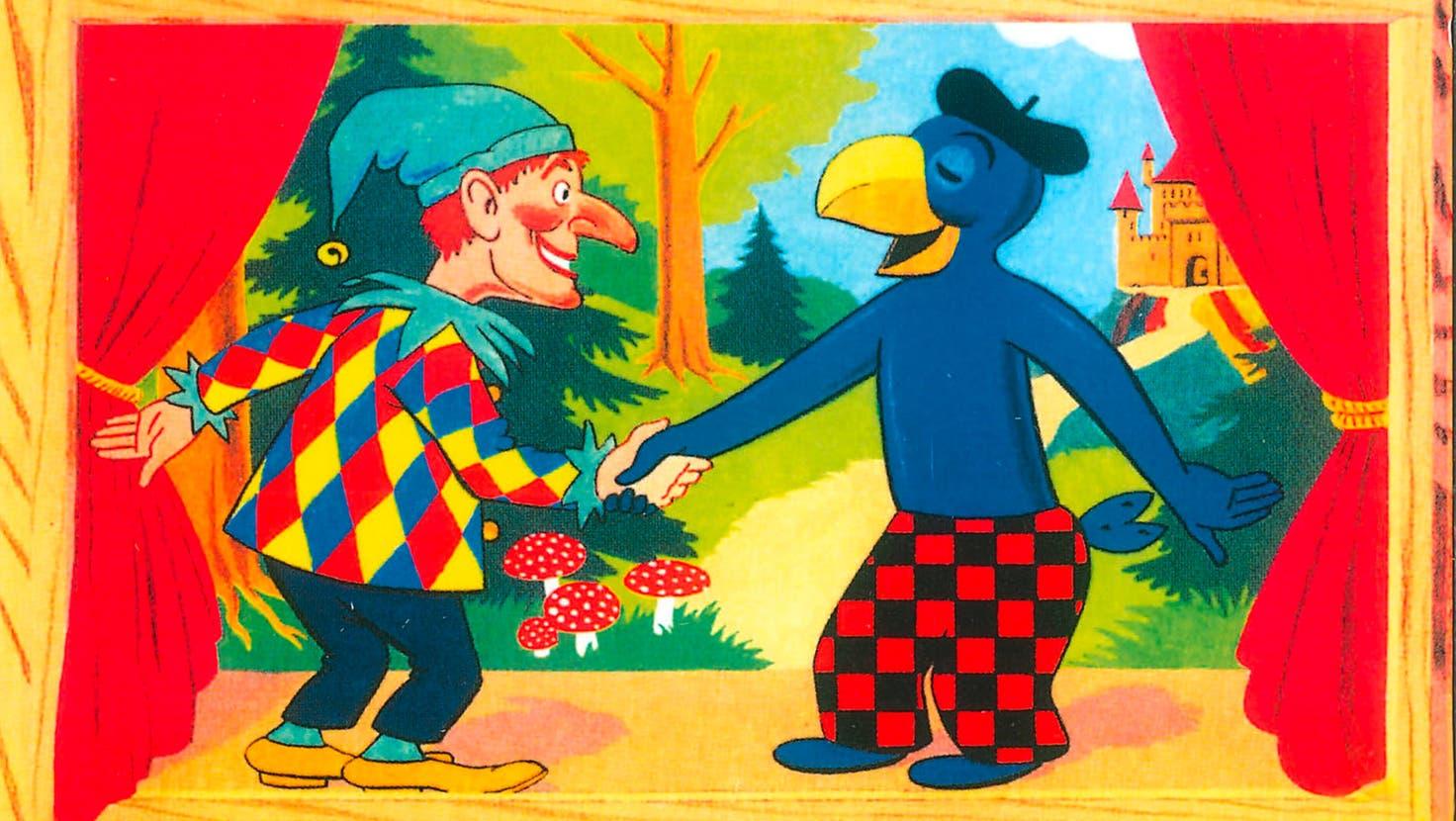 Hatten auch einen gemeinsamen Auftritt: Kasperli und Globi.