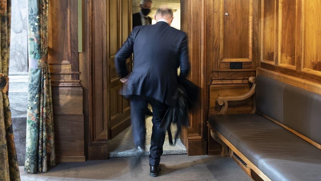 Noch bis am 1. Oktober treffen sich National- und Ständerat in Bern zur diesjährigen, drei Wochen dauernden Herbstsession. (Keystone)
