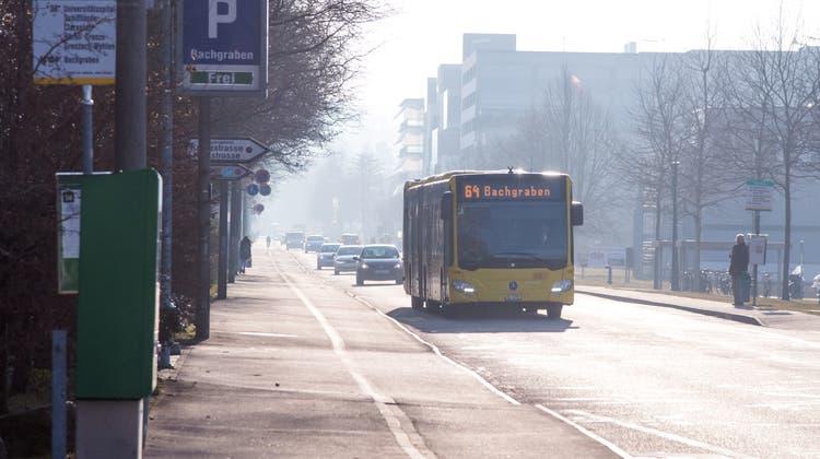 Sorgt weiterhin für Diskussionen: Der Nicht-Ausbau der Bus-Linie 64. (Nicole Nars-Zimmer Niz / BLZ)
