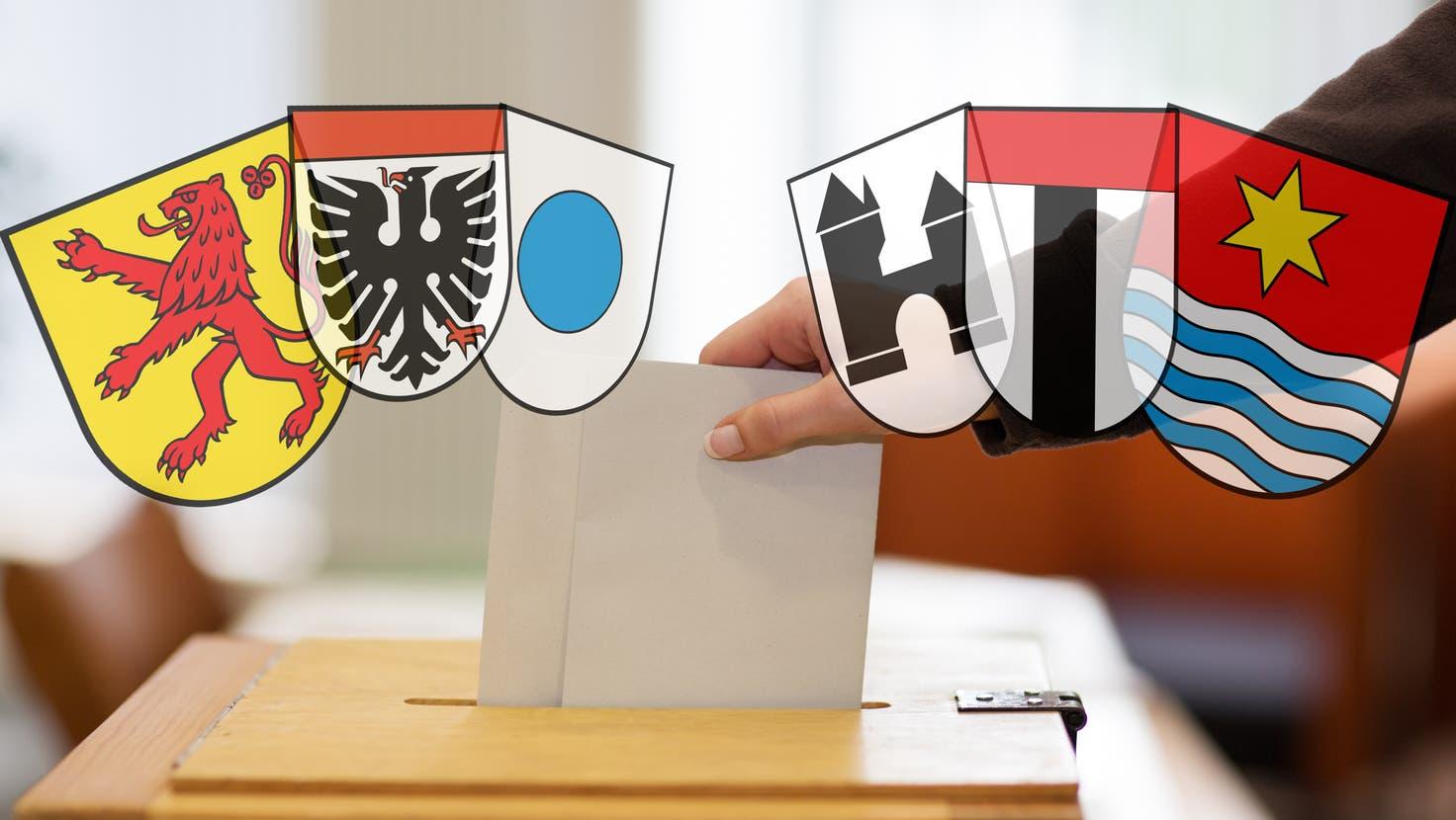 Die wichtigsten Wahl-Resultate: Angriff auf Stadtammann in Laufenburg gescheitert++ Vizeammann von Döttingen nicht wiedergewählt ++ Gemeinderats-Knatsch in Gebenstorf hat Folgen