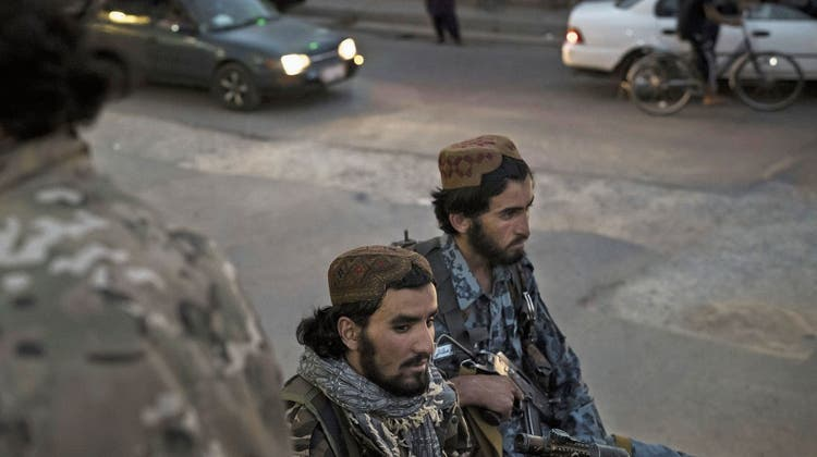 Taliban-Kämpfer in Afghanistan: Ihre politischen Vertreter wollen vor der UNO in New York das Wort ergreifen. (Keystone)