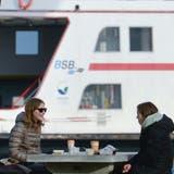 Die Fähre wird weiterhin im Stundentakt in den Hafen Romanshorn einlaufen. (Donato Caspari)