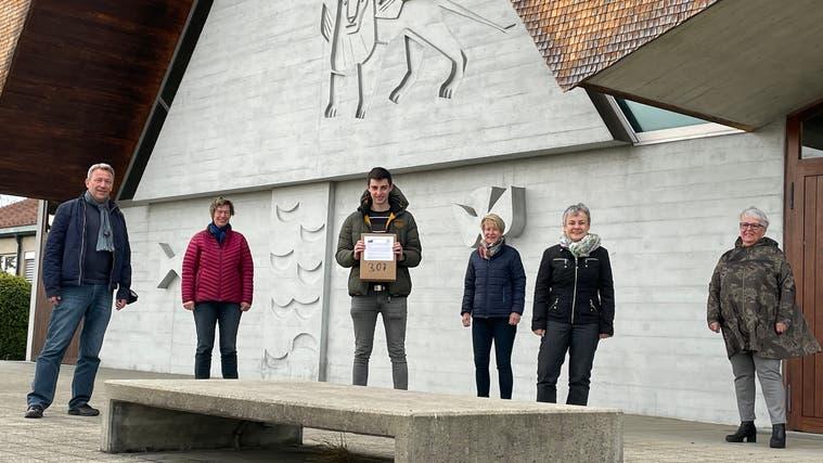 Die IG Markus anlässlich der Einreichung ihrer Petition im April. (zvg)