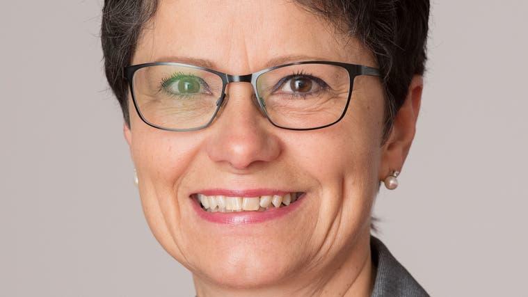 Maya Büchi, die Obwaldner Finanz- und Gesundheitsdirektorin, tritt zur Wiederwahl an. (Bild: PD)