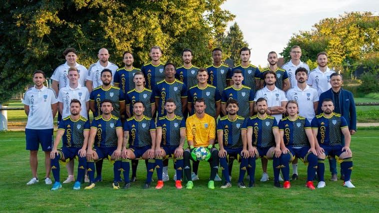 Erst seit rund drei Monaten ist die Mannschaft des SC Derendingen zusammen. (zvg)