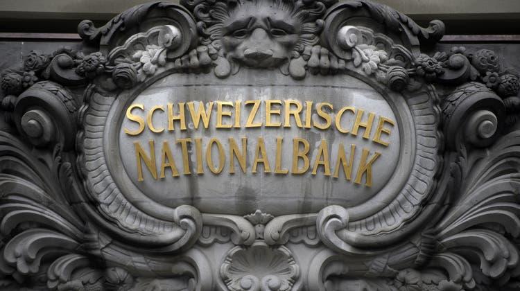 Die Schweizerische Nationalbank belässt den Leitzins unverändert bei -0,75 Prozent. (Keystone)