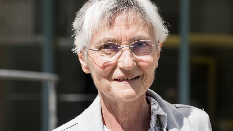 Ärztin Erika Preisigvor dem Kantonsgericht Baselland. (Severin Bigler(Liestal, 7.5.2021))