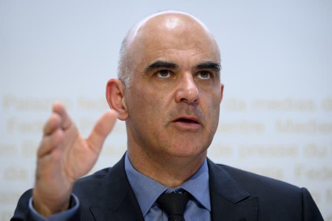 «Keine sympathische Sache»: Bundesrat Alain Berset über die Zertifikatspflicht.