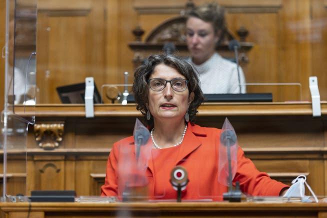 Die Zuger Nationalrätin und Gesundheitspolitikerin Manuela Weichelt.