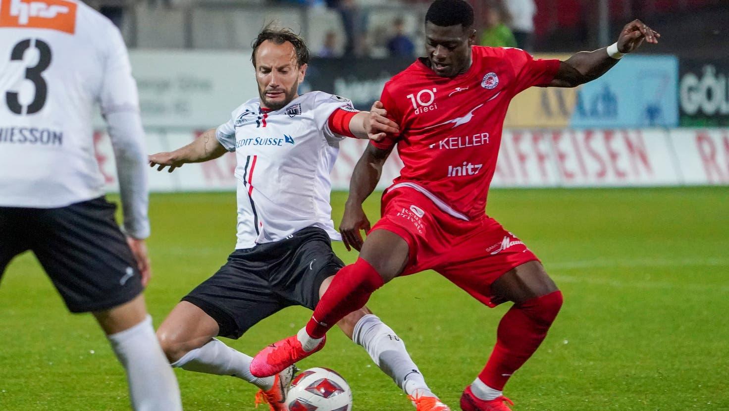 Der FC Aarau holt in Winterthur ein torloses Unentschieden