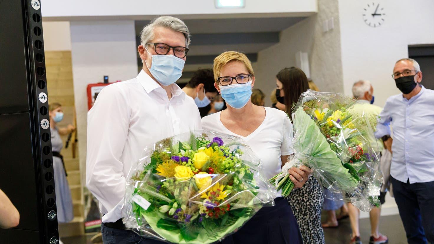 Stadtpräsidium Solothurn: Der erste Wahlgang zwischen Markus Schüpbach und Stefanie Ingold brachte keinen Gewinner hervor. (Hanspeter Bärtschi)