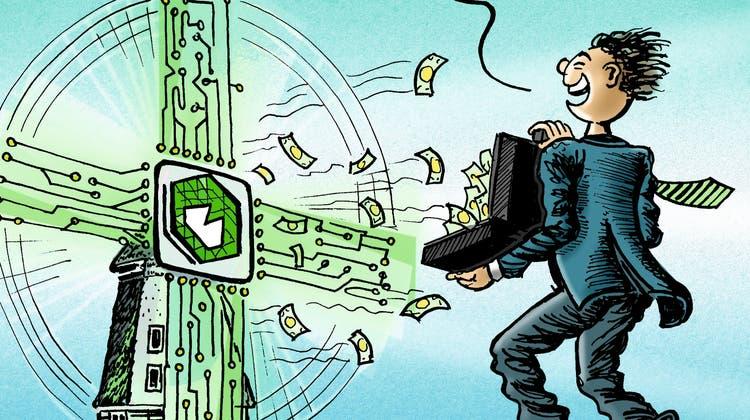 BE Semiconductor Industries weist gute Zahlen auf. (Illustration: Marco Ratschiller)