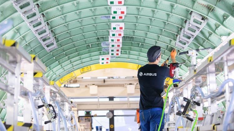 Der Flugzeugbauer Airbus will CO2-freies Fliegen ermöglichen. (Keystone)