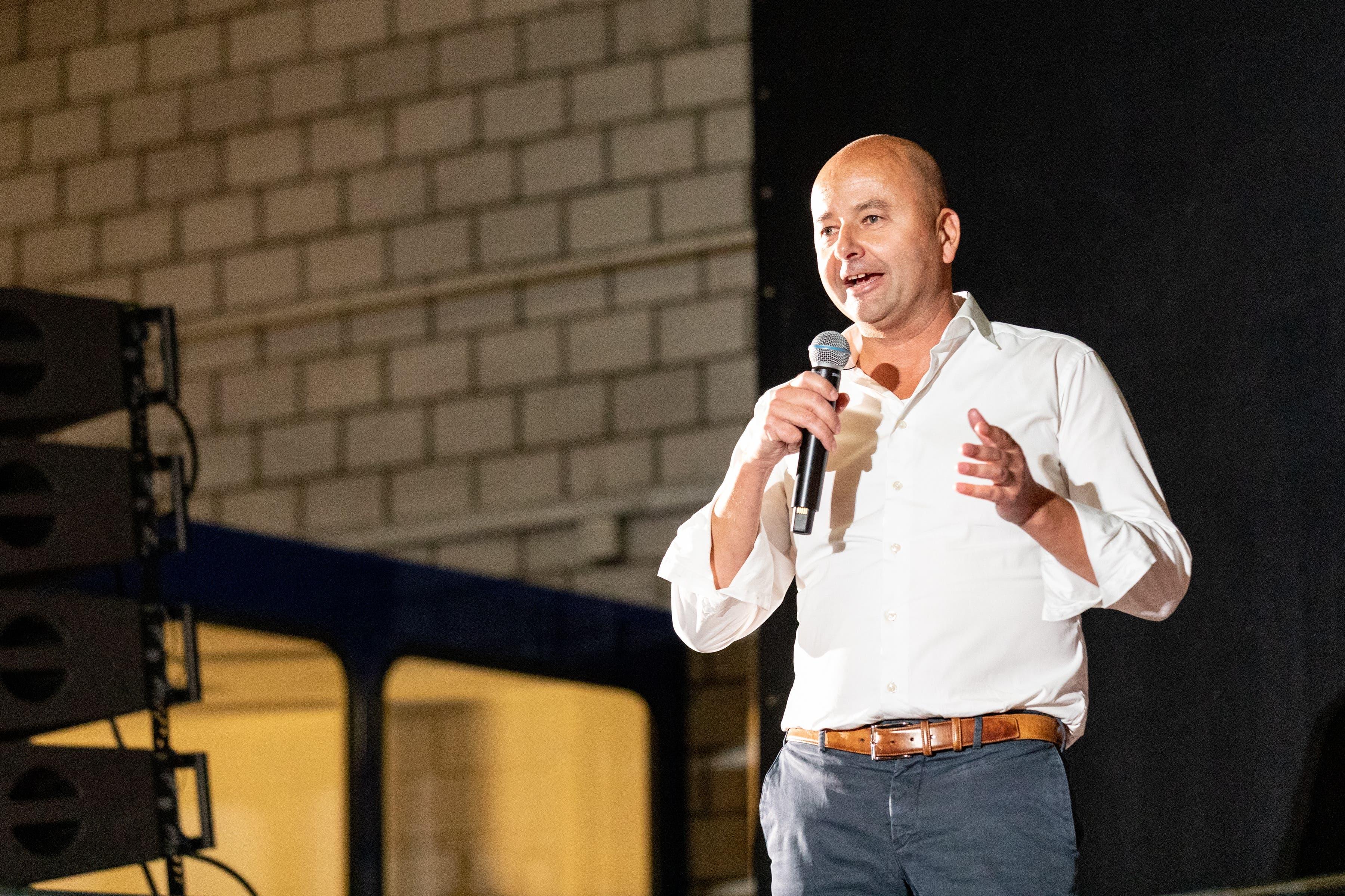 «Es faszinierte mich dass sich junge Leute für das Milizsystem engagieren», sagte Nils Planzer, CEO und Verwaltungsratspräsident der Planzer Gruppe.