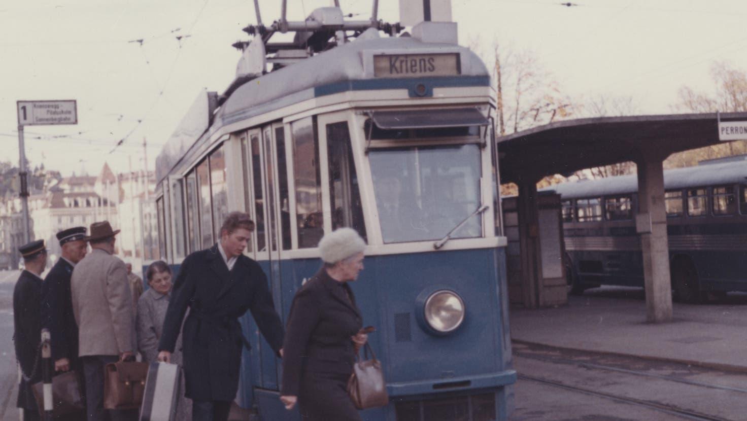 Von 1899 bis 1961 fuhren in der Stadt Luzern Trams. (Bild: VBL/www.vbl.ch)