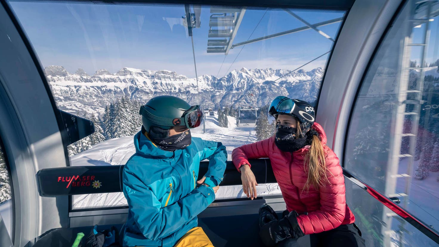 Eine Zertifikatspflicht in den Schweizer Skigebieten könnte womöglich Realität werden. (Bild: PD)