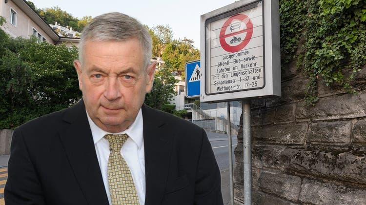 Rechtsanwalt Urs Oswald appelliert an die Regionalpolizeien, die Bussenpraxis zu überdenken. (Sandra Ardizzone)