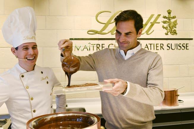La richiesta di Federer come mezzo pubblicitario continuerà a superare la sua carriera.