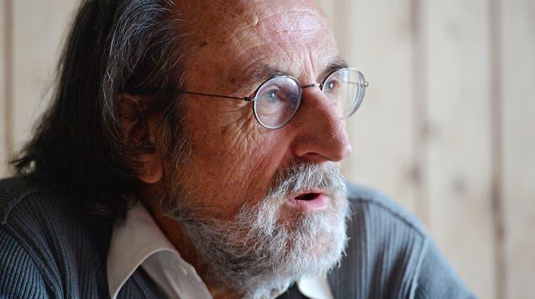 Der Thurgauer Tierschützer Erwin Kessler ist im Alter von 77 Jahren gestorben. (Bild: Reto Martin (13. Februar 2014))