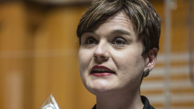 Sarah Wyss ist die neue Präsidentin von Garanto. (Keystone)