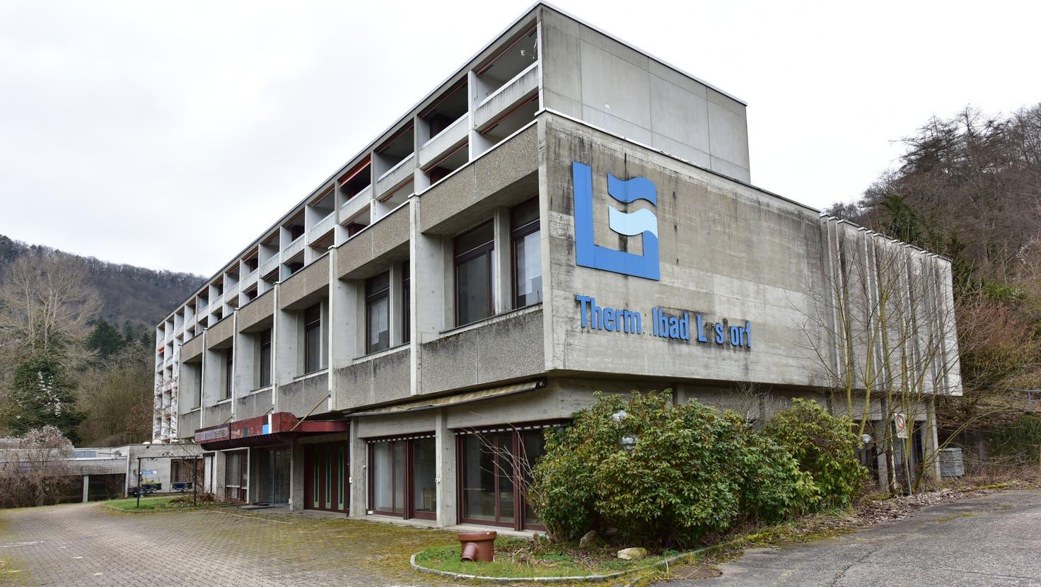 Das Bad-Gelände oberhalb von Lostorf ist im Internet für rund 2,7 Millionen Franken zum Verkauf ausgeschrieben. Offenbar laufen bereits Gespräche. (Stefan Worminghaus(Archiv))